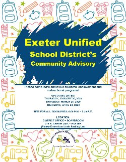 EUSD Community Advisory Meeting- English
